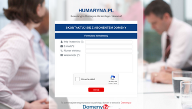 humaryna.pl Screenshot