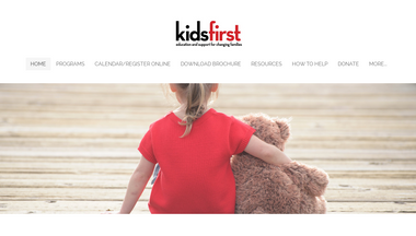 kidsfirstcenter.org Screenshot