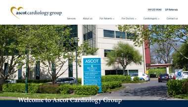 ascotcardiologygroup.co.nz Screenshot