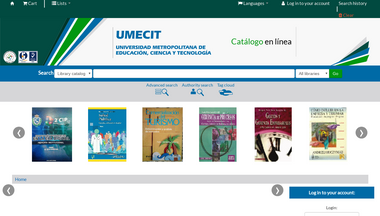 umecit.metabiblioteca.org Screenshot