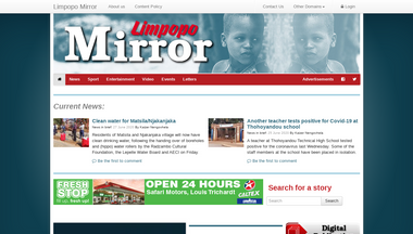 limpopomirror.co.za Screenshot