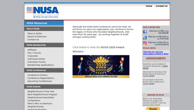 nusa.org Screenshot