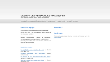 gestion-des-ressources-humaines.fr Screenshot