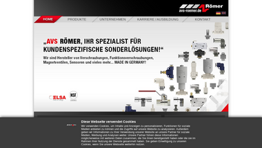 avs-roemer.de Screenshot