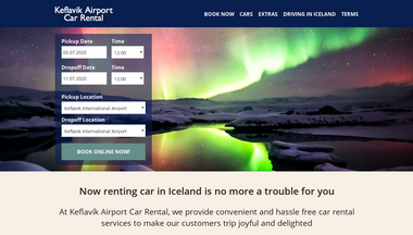 keflavikairportcarrental.is Screenshot