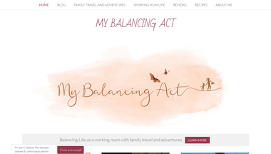 mybalancingact.co.uk Screenshot