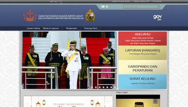 councils.gov.bn Screenshot
