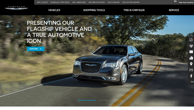 chrysler.com.bn Screenshot