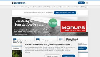 kkuriren.se Screenshot