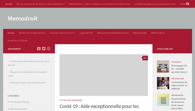 memodroit.fr Screenshot
