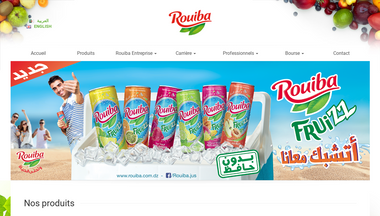 rouiba.com.dz Screenshot