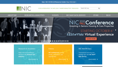 nic.org Screenshot