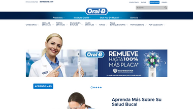 oralb.com.gt Screenshot