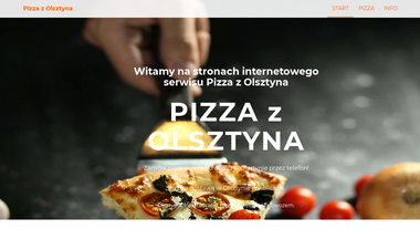 pizza.zolsztyna.pl Screenshot