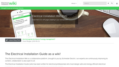 electrical-installation.org Screenshot