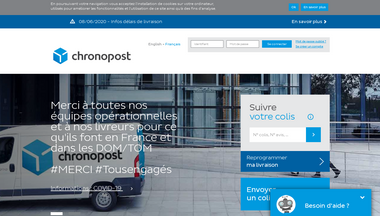 chronopost.fr Screenshot