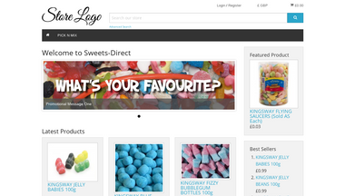 Schermafbeelding voor sweets-direct.co.uk