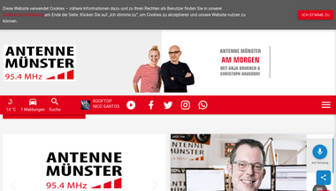 antennemuenster.de Screenshot