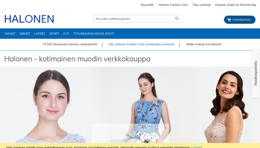 halonen.fi Screenshot