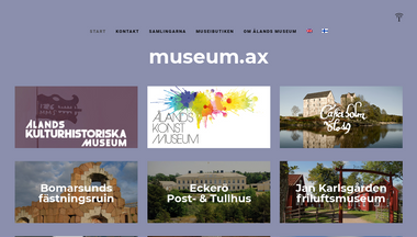 museum.ax Screenshot
