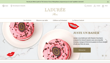 laduree.fr Screenshot