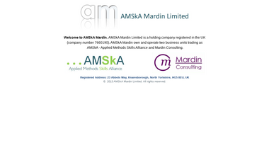 amskamardin.co.uk Screenshot