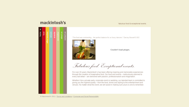 mackintoshs.co.uk Screenshot