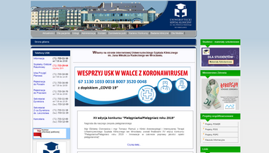 usk.wroc.pl Screenshot