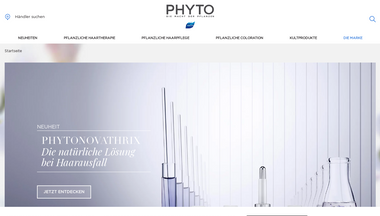 phyto.de Screenshot