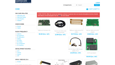 shop.sysmocom.de Screenshot