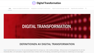 digital-transformation.nu Screenshot