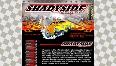 shadysidedragway.net Screenshot