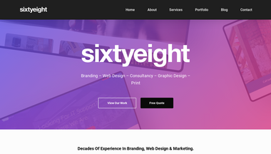 sixtyeight.co.uk Screenshot