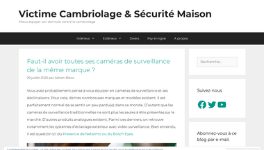 victime-cambriolage.ovh Screenshot