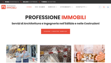 professioneimmobili.it Screenshot