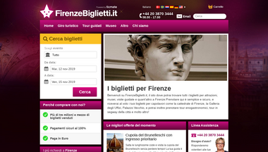 firenzebiglietti.it Screenshot
