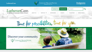 lutherancare.org Screenshot