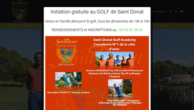 Capture d'écran de progress-golf-academy.fr