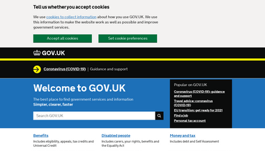 jobcentreplus.gov.uk Screenshot
