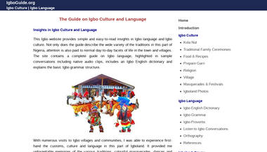 igboguide.org Screenshot