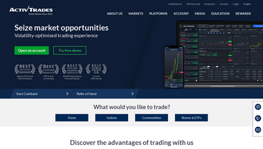 activtrades.bs Screenshot