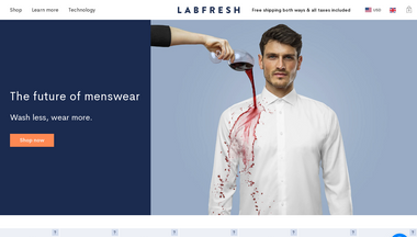 labfresh.eu Screenshot