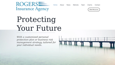 rogersinsuranceagency.net Screenshot