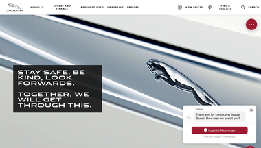 jaguar.com.bn Screenshot