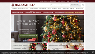 balsamhill.fr Screenshot