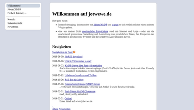 jwwulf.de Screenshot
