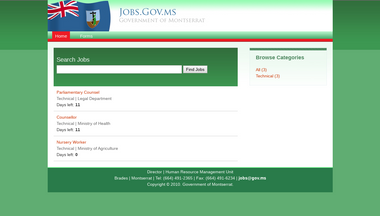 jobs.gov.ms Screenshot