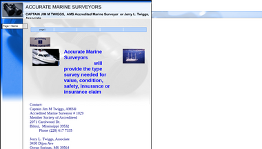 marinesurveyor.ms Screenshot