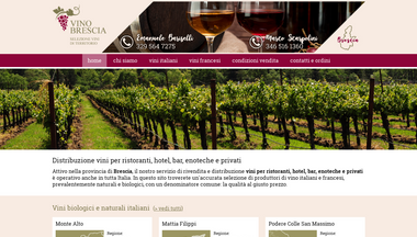 vino-brescia.it Screenshot