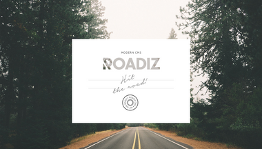roadiz.io Screenshot